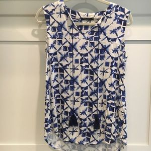 Max jeans sleeveless top